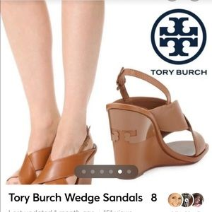 Tory Burch 🔥 ALL -T Wedge Sandals.  8